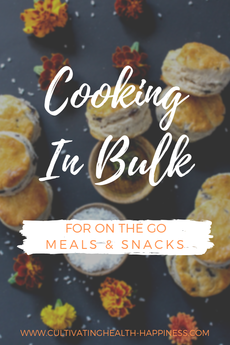 Cooking in Bulk