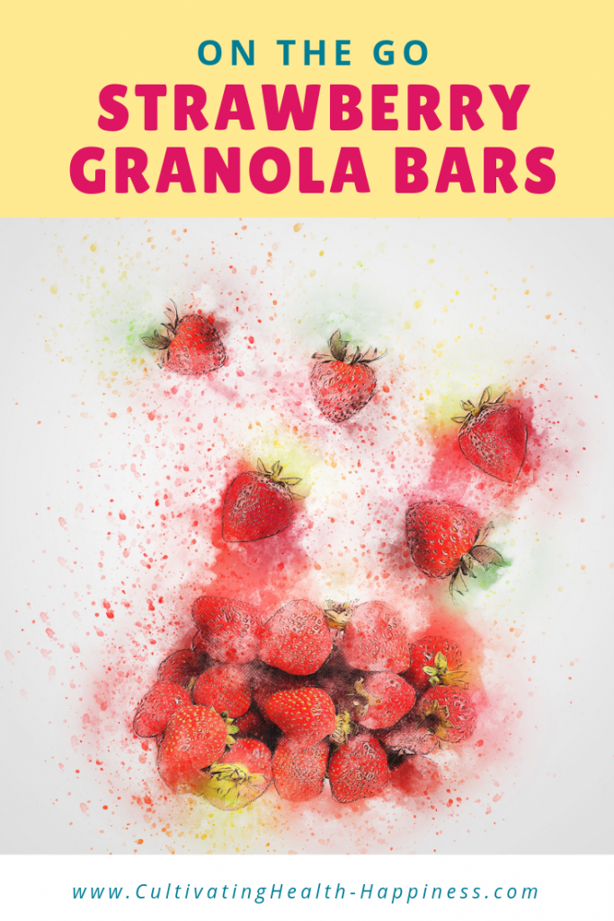 make ahead strawberry granola bars